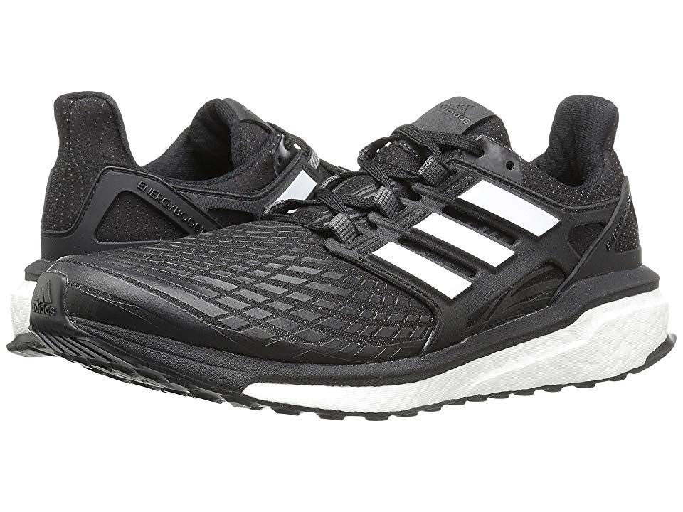 d33941e3d adidas Running Energy Boost (Core Black Footwear White) Men s Running Shoes.  Jolt your soles to life each time you lace up in the adidas Energy Boost ...