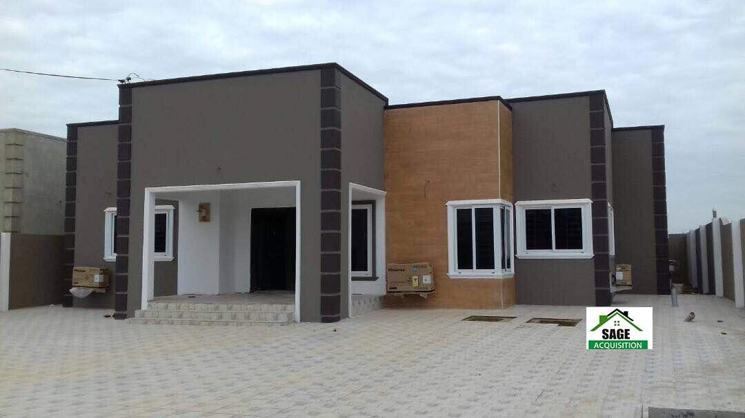 Modern House With Hidden Roofing For Sale At East Legon Hills Sage Acquisition Flat Roof House House Roof Roof Styles