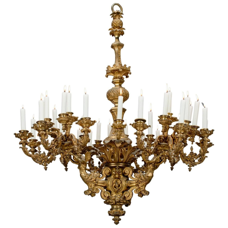 Napoleon III Thirty Three Light Chandelier