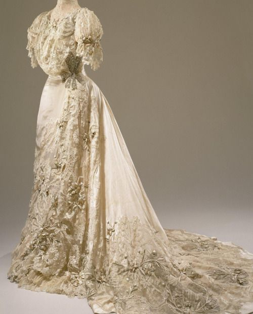 Wedding dress, 1905From the Hillwood Museum
