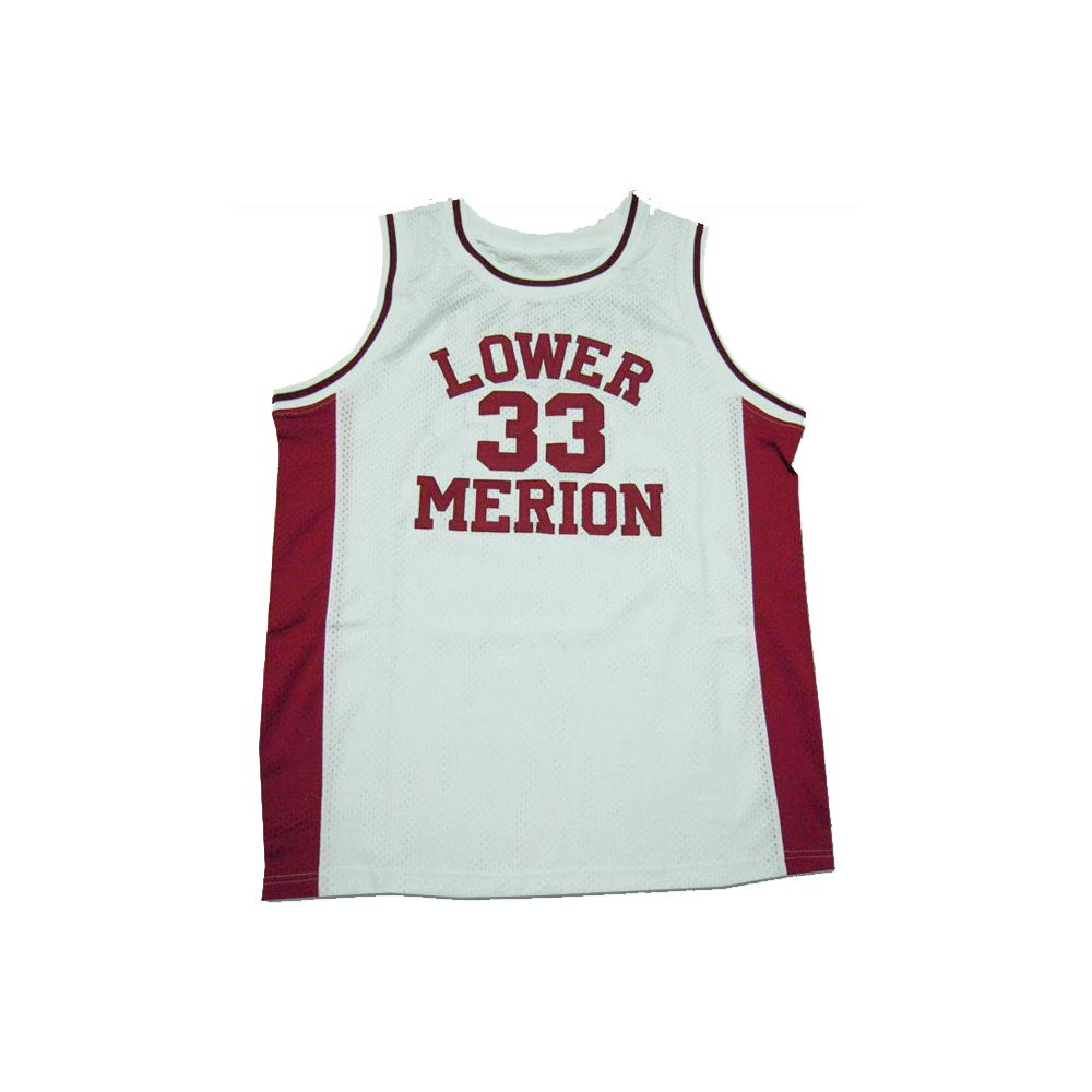 5677c190d Want to buy Kobe Bryant Lower Merion High School Color White Customize Basketball  Jersey Uniform
