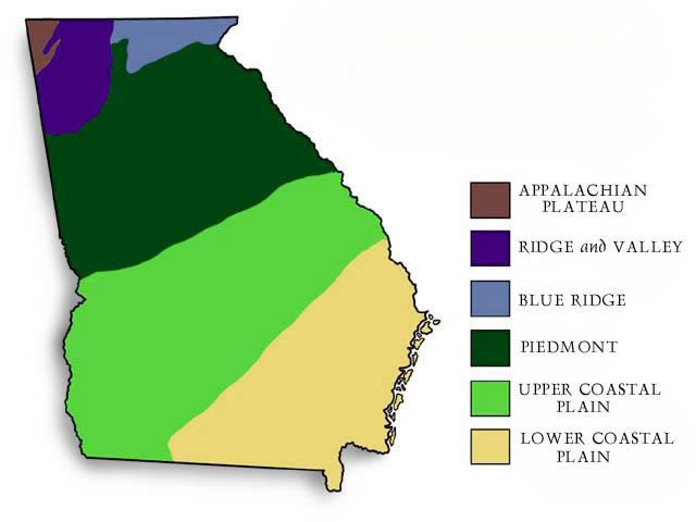 Map Of Georgia S Five Main Regions Science Pinterest Teaching