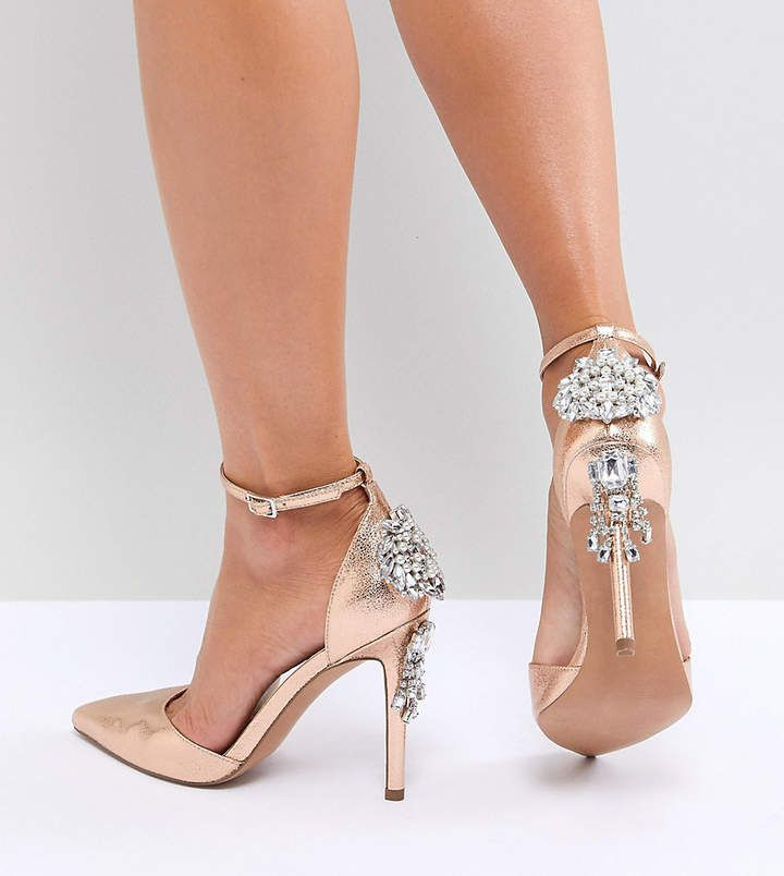 Superstar Asos Nude Shoes Pic