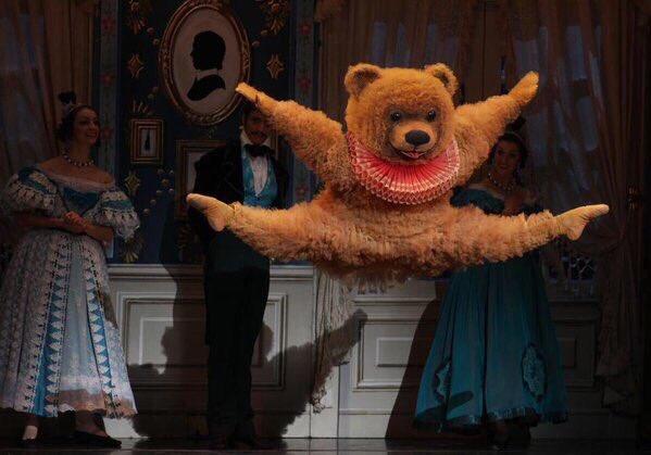 ボストンバレエ団のクマ4 動物コスチューム ハムスター バレエ
