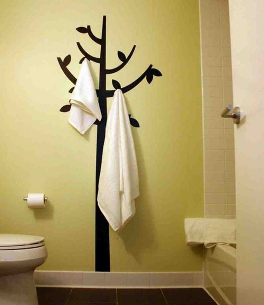 Decorating Ideas for Bathroom Walls   L.I.H. 67 Bathroom Wall Decor ...