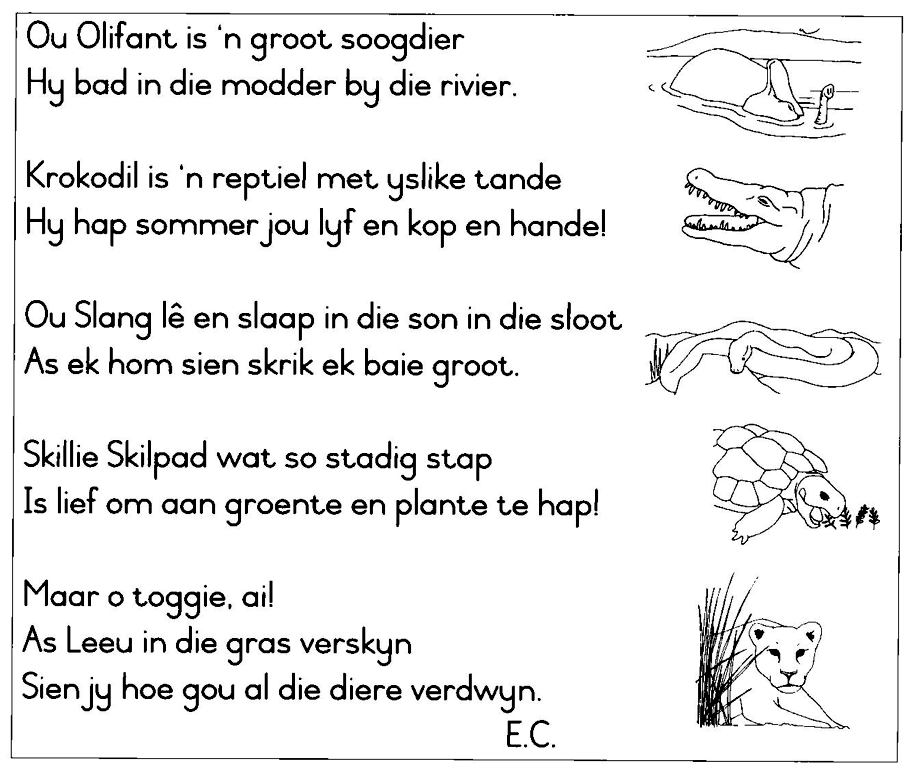 Gediggie, Wilde diere 03, By OpenStax