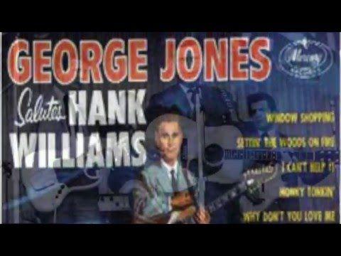 George Jones Salutes Hank Williams (1960) Full Album - YouTube