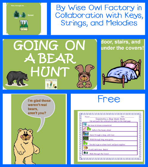 Going on a Bear Hunt Free PDF and Power Point in 2020
