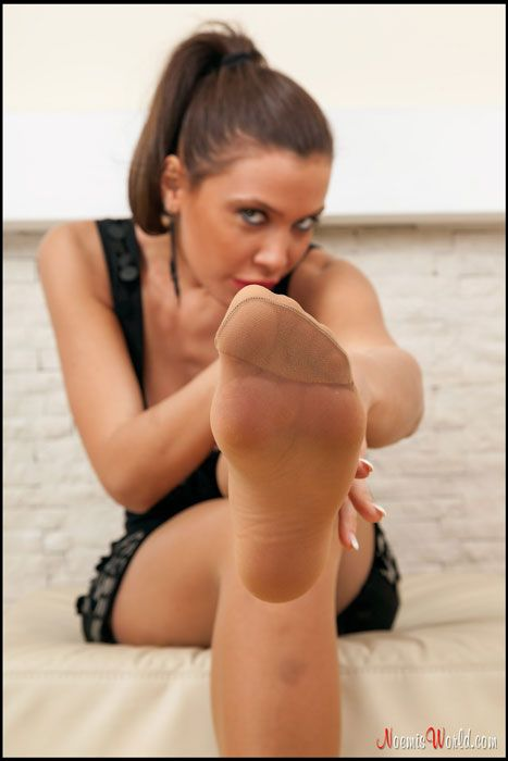 Pantyhose feet blog