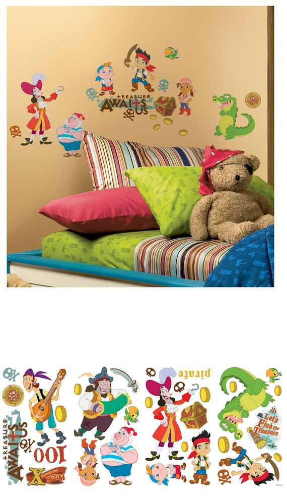 Idea For His New Room Jake And The Neverland Pirates Wall Stickers