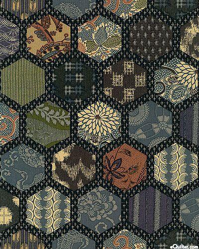 japanese hexagon - Google Search | patchwork | Pinterest | Hexagon ... : japanese quilt fabric - Adamdwight.com