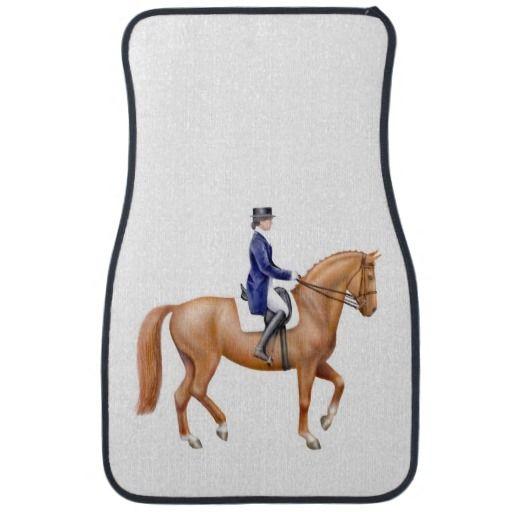 Dressage Horse Equestrian Auto Floor Mats Zazzle Com Dressage Horses Horse Equestrian Dressage
