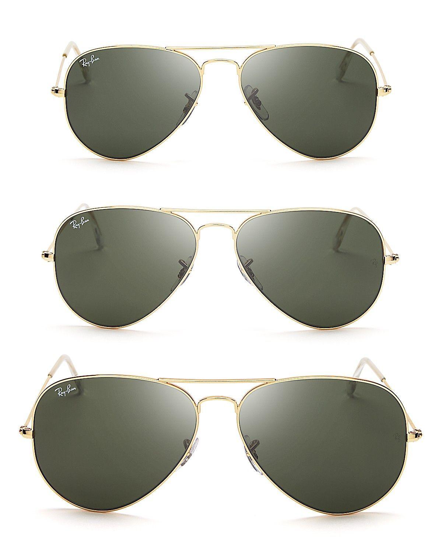 c6c0bd78a47f Ray-Ban Aviator Sunglasses | Bloomingdales. Size 55 | Ray ban ...