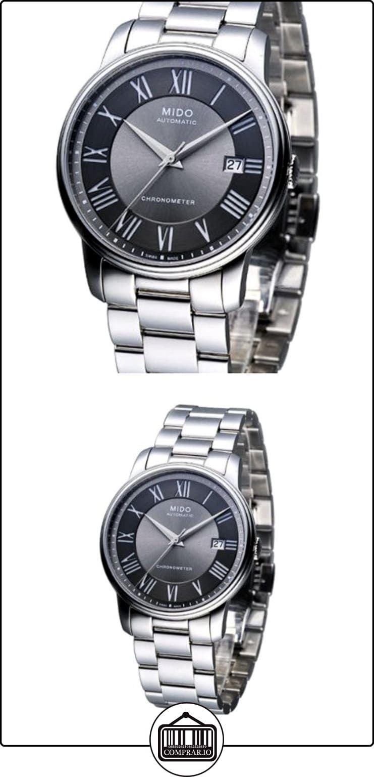 596a4bdaeafa Mido Baroncelli M0104081106309 - Reloj para hombres