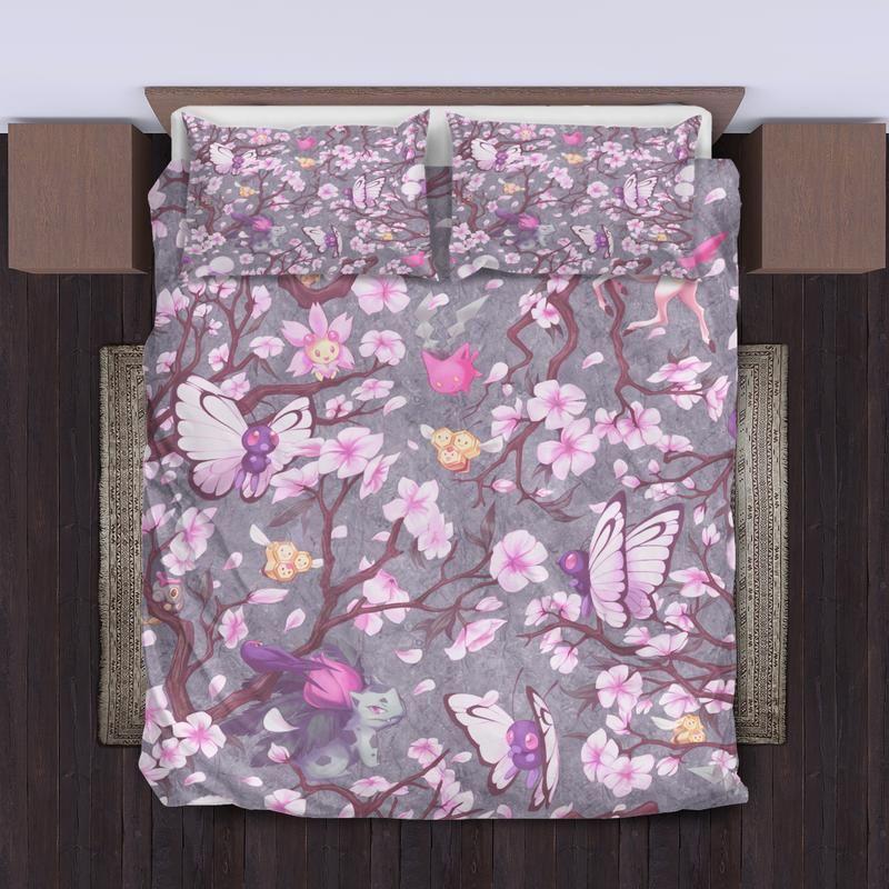Pokemon Spring Bedding Set Bed Springs Bed Bedding Sets