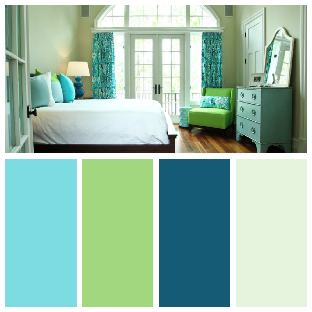 Master Bedroom Blue And Green Color Palette Bedroom Color Schemes Blue Green Bedrooms Beautiful Bedroom Colors