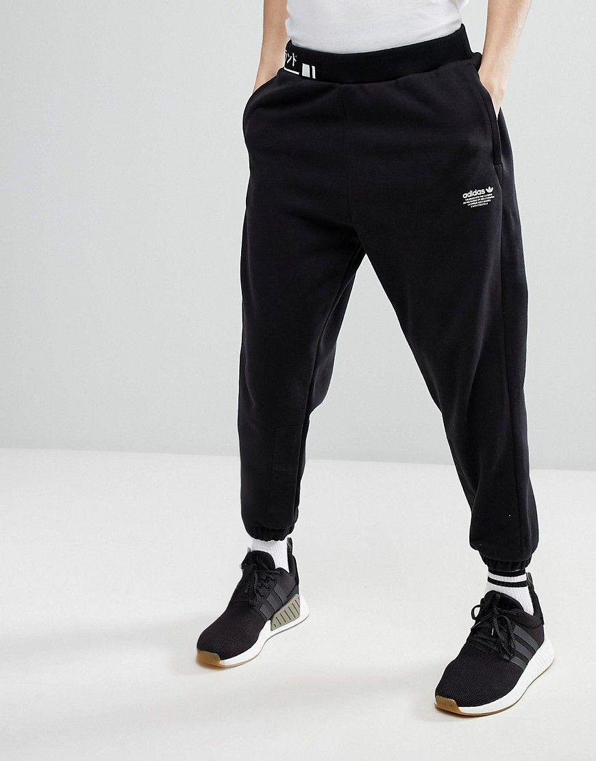 newest collection 0dccc a6e5f ADIDAS ORIGINALS NMD JOGGERS IN TAPERED FIT IN BLACK CV5818 - BLACK.  adidasoriginals cloth