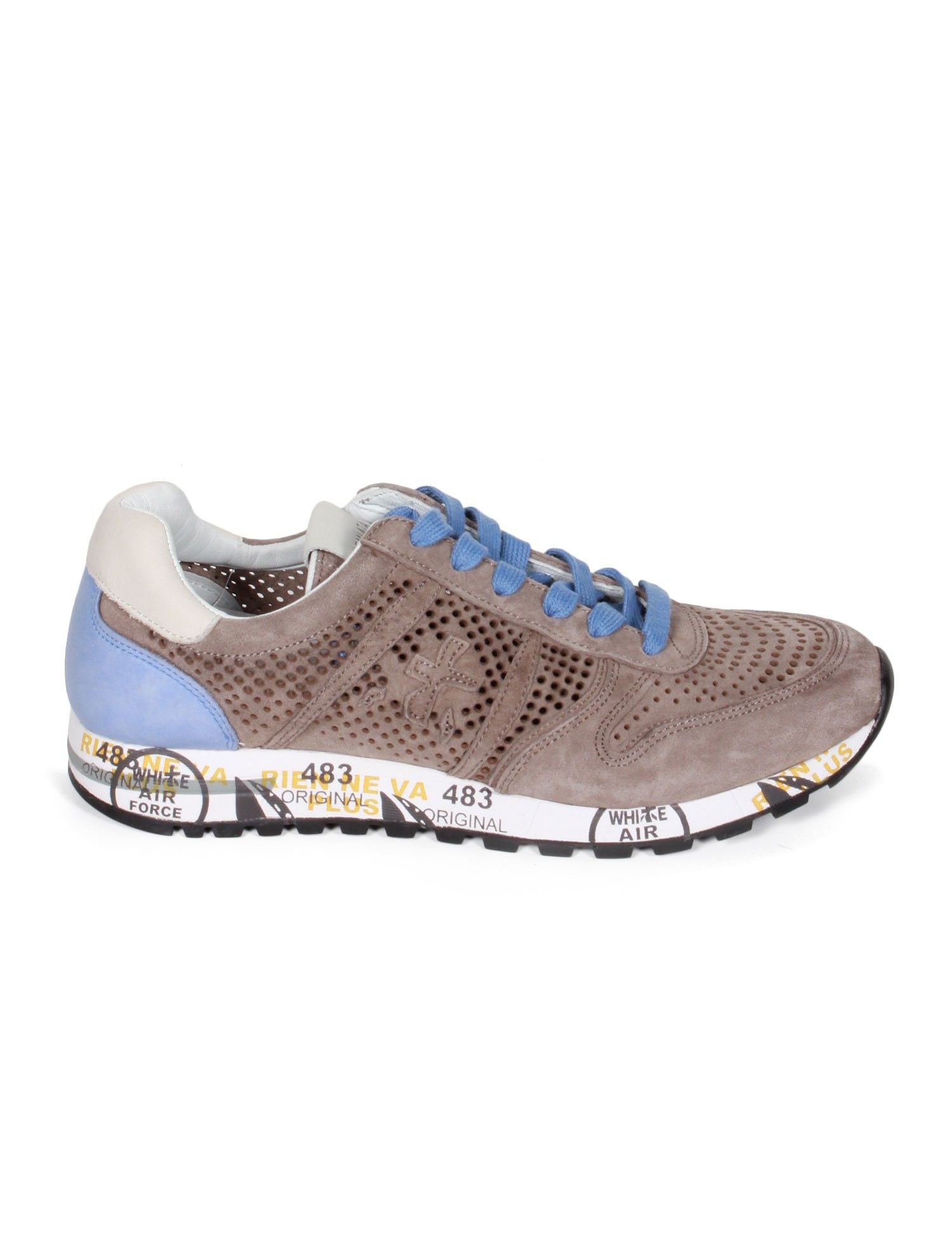 Taupe and beige Sky sneakers Premiata bIavhdtfbl