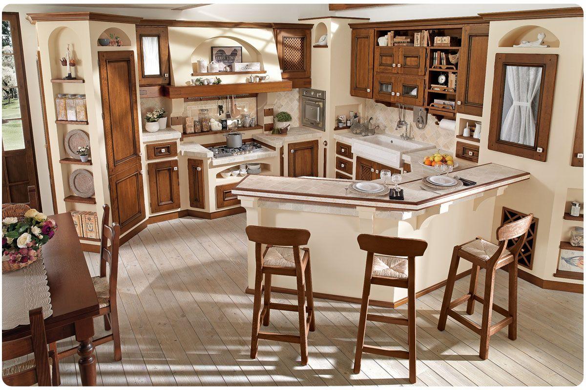 Cucine classiche componibili Borgo Antico Beatrice | casa ...