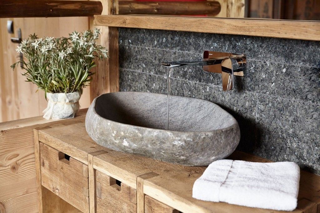 marmor waschbecken stein- ideen möbel … | pinterest, Hause ideen