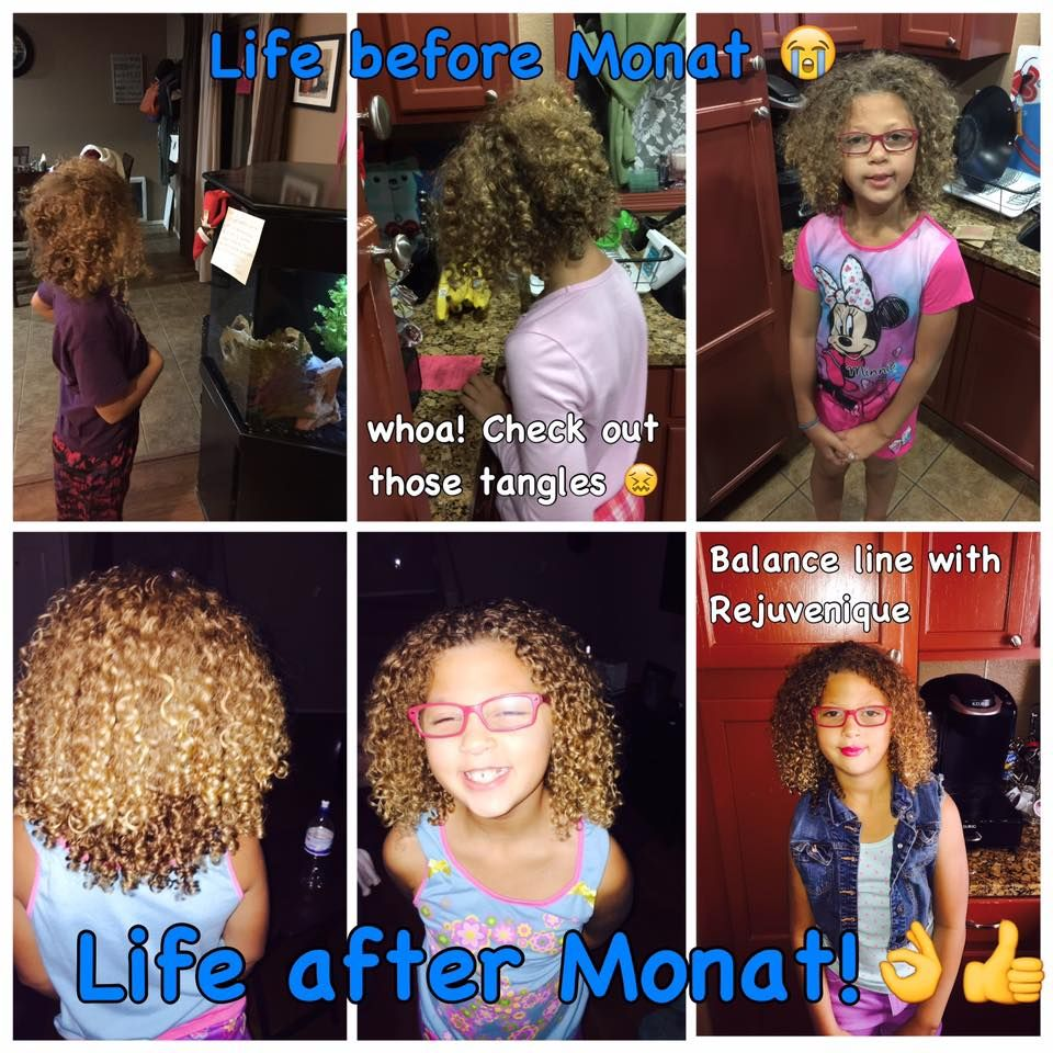 Love your curls!! Monat Balance System balances out the PH