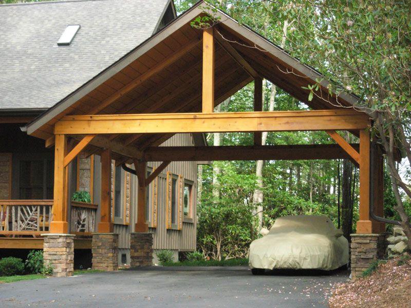 Wood Carports Photos Interior Design Ideas Carport Designs