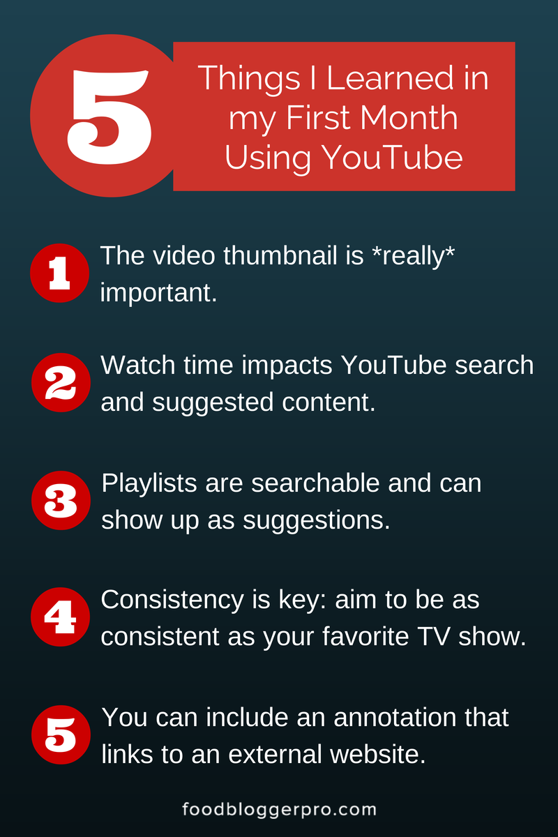 5 Things I Learned in my First Month Using YouTube First