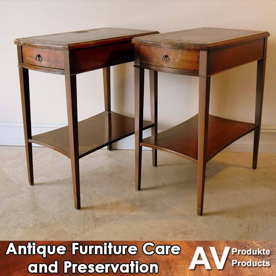 The methods of care for historical or valuable antique furniture have  changed over the years. - The Methods Of Care For Historical Or Valuable Antique Furniture