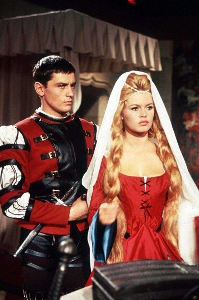 Alain Delon And Brigitte Bardot In Famous Love Affairs Brigitte