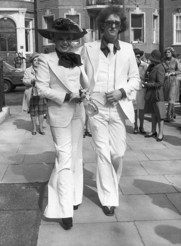 Alana Hamilton and Rod Stewart, 1979