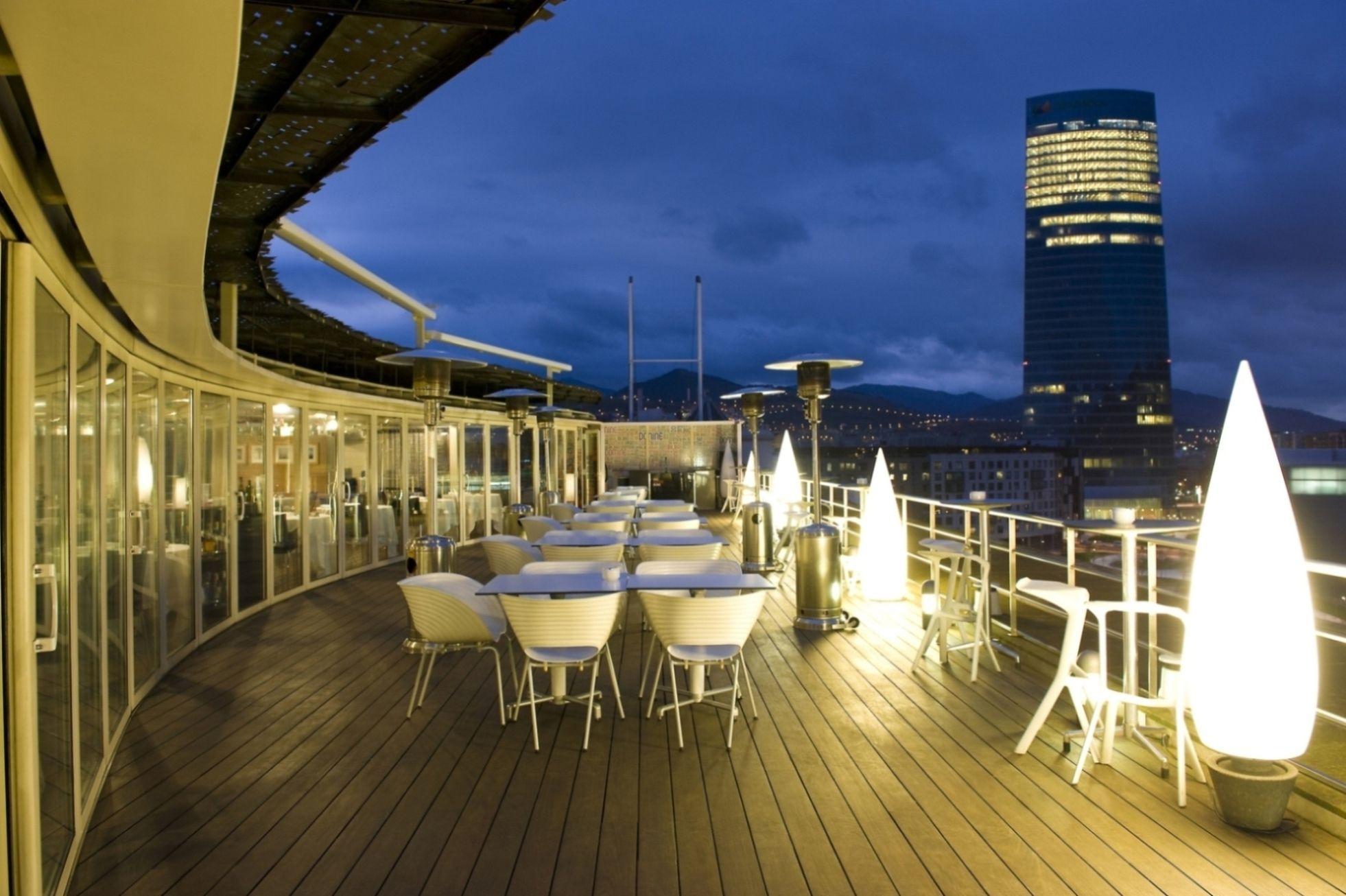 DOMA terrace Bilbao Spain La terraza del nuevo