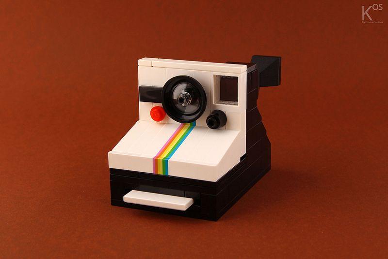 Vintage Polaroid Camera (HARDnuary 2014)