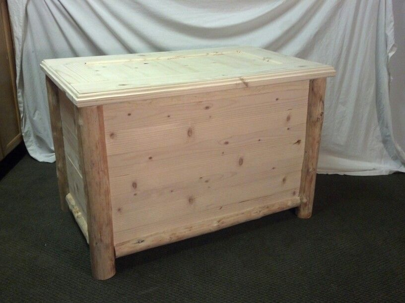 Pin By Jeremy E Scott On Log Blanket Chest Hope Chest Toy Box