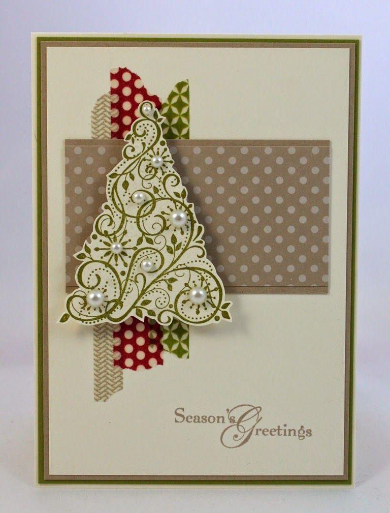 11 of the Fanciest Handmade Christmas Cards | Christmas cards ...