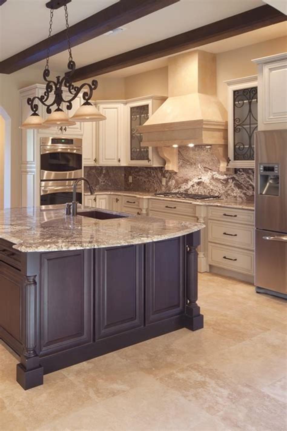 47 most popular mediterranean kitchen design ideas trend 2020 dark kitchen cabinets modern on kitchen cabinets design id=75542