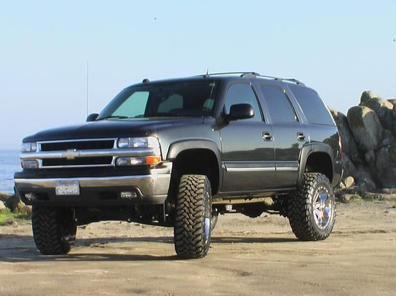 Gmc Tahoe Denali W Lift Kit Chevy Tahoe Chevy Lifted Chevy Tahoe