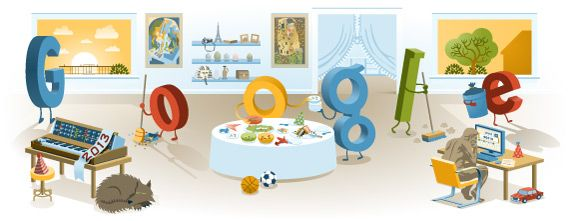 Yesterday I shared with you all the logos and themes from the search industry for New Years Eve 2012.  Well, today is New Year's Day 2013 and Google has a special logo just for the day.    Here is a picture of the logo:        As you can see...