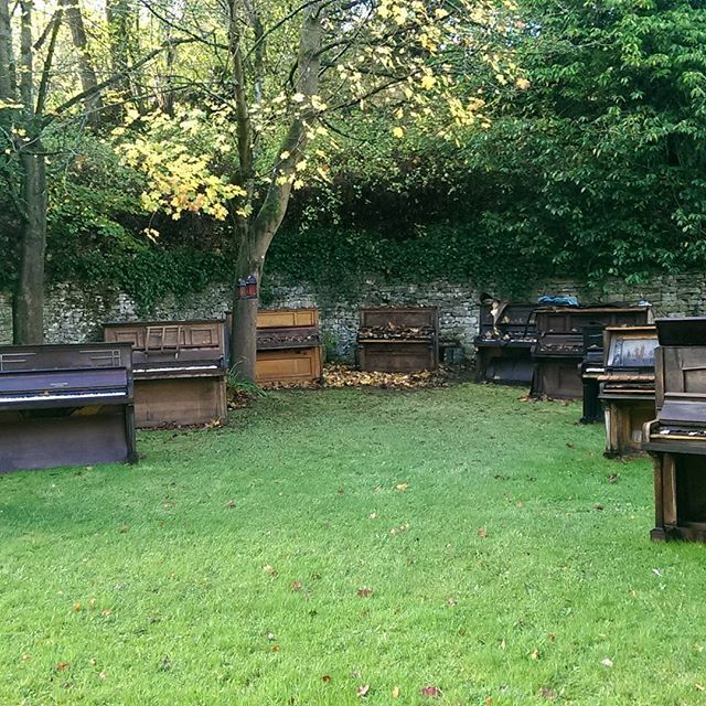 The Convent Piano Graveyard
