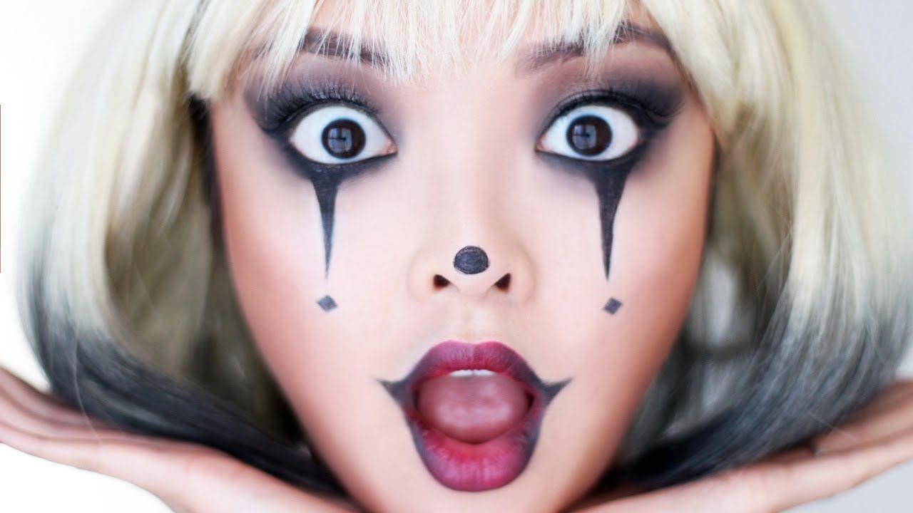Sad clown girl halloween makeup tutorial halloween pinterest sad clown girl halloween makeup tutorial baditri Image collections