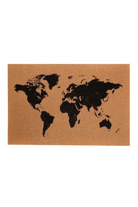 World map cork board from typo cottonon bedroom world map cork board from typo cottonon gumiabroncs Choice Image
