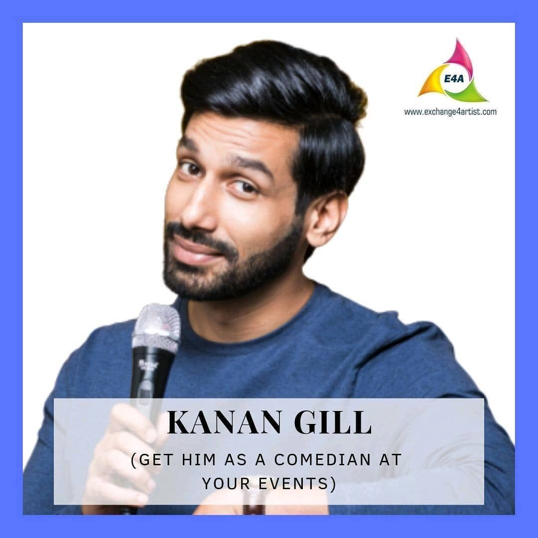 Pin by S on Kanan Gill in 2020 Stand up comedians, Kanan