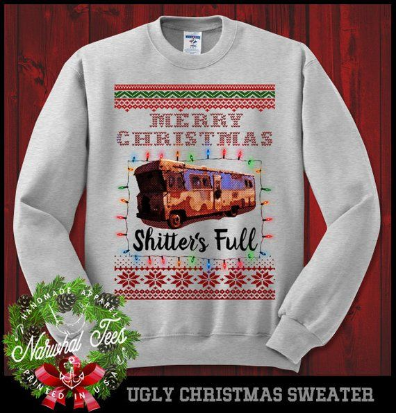 Christmas Vacation Crewneck Sweater Funny Ugly Christmas Sweater