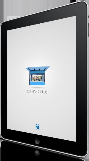 Tablet - náhľad aplikácie