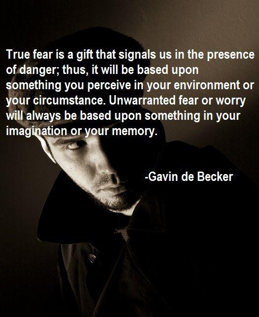Gavin De Becker Quote Women Life Lessons Quotes Healthy