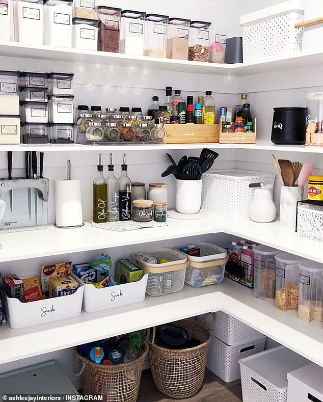 Mum-of-four who is 'all about organisation' reveals pantry makeover
