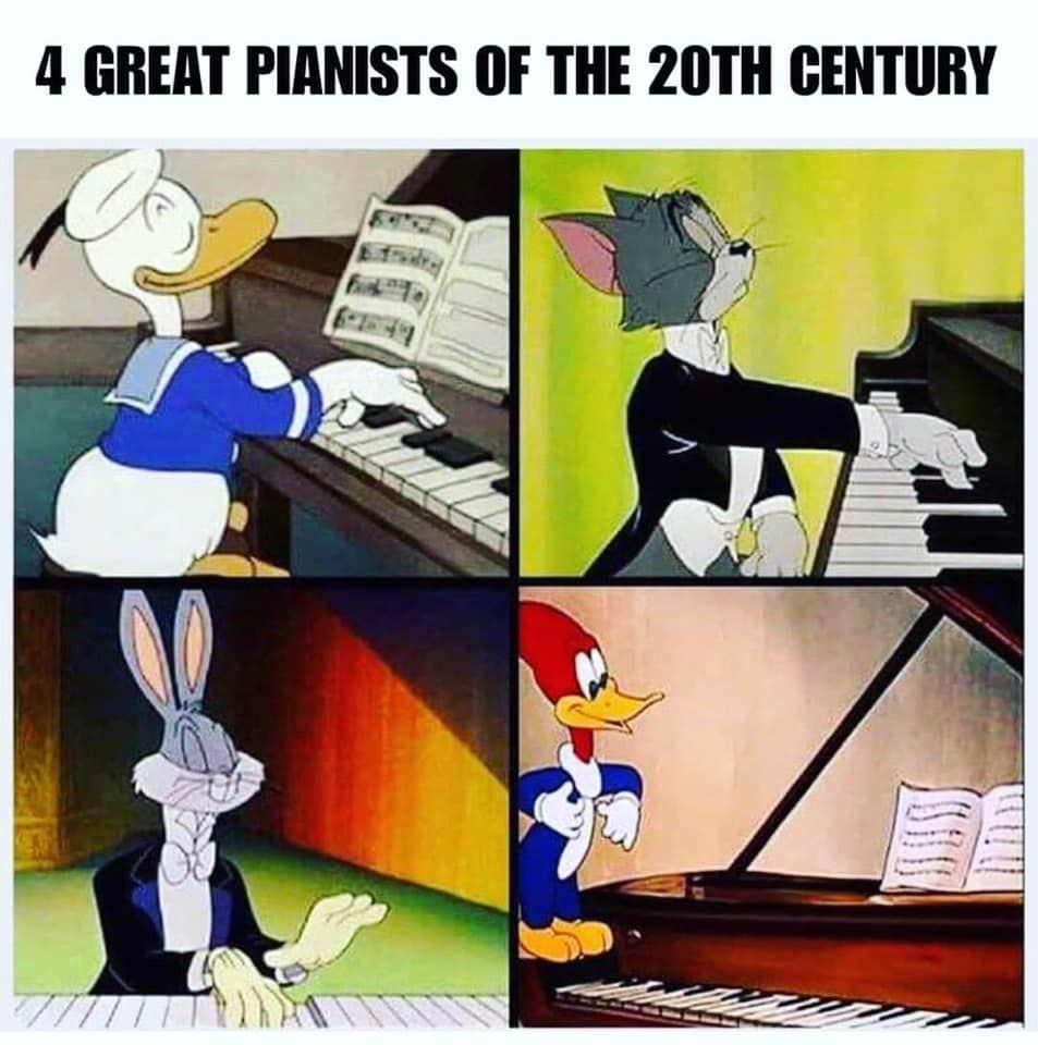 Best Female Pianists Piano Memes Musician Memes Piano Funny