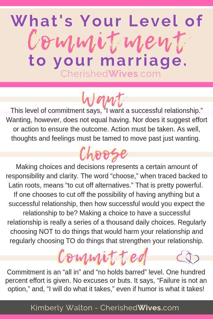Whats Your Level of Commitment | Successful relationships