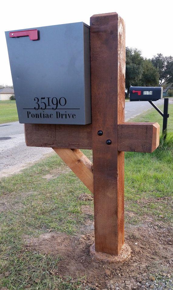 6x6 Cedar Mailbox Post