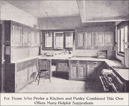 1911 Kitchen & Pantry by American Vintage Home, via Flickr