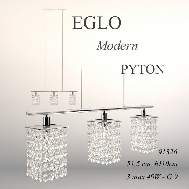 Ceiling lamp Eglo collection Modern model Pyton